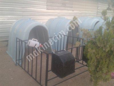 Satılık Sıfır Buzağı Kulübesi Fiyatları Konya buzağı kulübesi