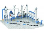 Compact System Natural Stone Bulgur Plant Cr-ni 304 Quality Stainless