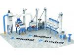 Kompakt Sistem Doğal Taş Bulgur Fabrikası Cr-ni 304 Kalite Paslanmaz