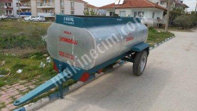Manisada Sıfır 3 Tonluk Su Tankeri Galvaniz
