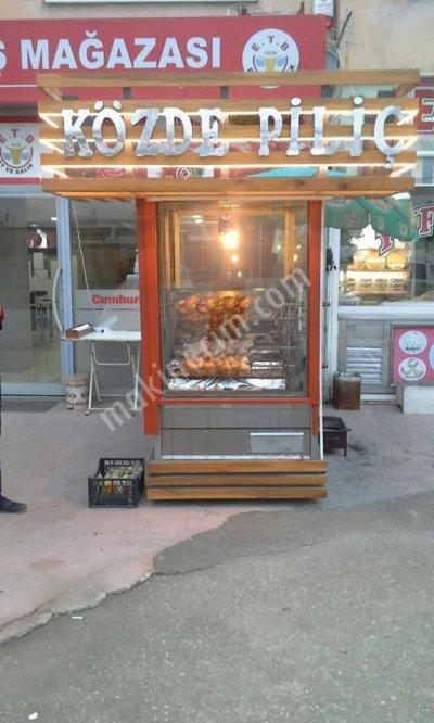 Közde Piliç Çevirme Makinası