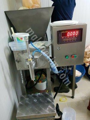Satılık Sıfır Süzme Yoğurt Dolum Makinesi Fiyatları İzmir yoğurt dolum,süzme yoğurt dolum,süzme yoğurt dolum makinesi,gramajlı dolum makinası