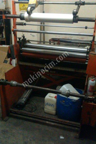 Manuel Selefon Kaplama Makinası 110 Cm