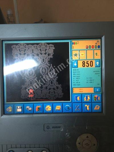 Satılık İkinci El KORDONELİ PULLU NAKIŞ MAKINALARI 2012 MODEL Fiyatları İzmir nakış makinası,makış makinaları,kordoneli nakış makinası,pullu nakış makinası,makine lazer kordone pullu