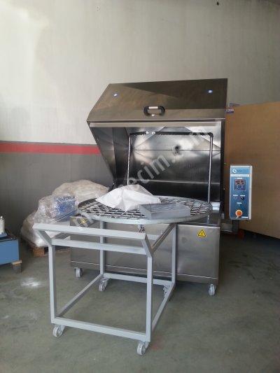 Parça Yıkama Makinası, 1250 Lik Döner Sepetli