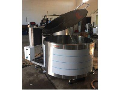 Satılık Sıfır Süt Soğutma Tankı 500lt İmalatçıdan Sıfır 2 Yıl Garanti Fiyatları Manisa süt soğutma tankı