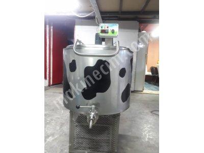 Hesaplı Süt Soğutma Tankları 150 Lt Dikey Tip