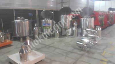 Satılık Sıfır Hesaplı Süt Soğutma Tankları 150 lt 8300   tl Fiyatları İstanbul hesapli süt soğutma tanklari