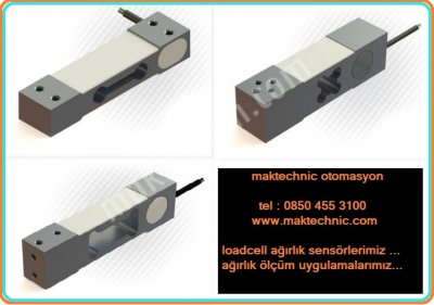 Satılık Sıfır Loadcell Ağırlık Sensörleri Fiyatları İstanbul loadcell,ağırlık sensörü,pulse değil,load cell,makteknik,maktechnic,terazi,baskül,paketleme,dolum