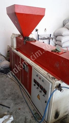 Acil Satılık Plastik Kangal Boru Makinesi