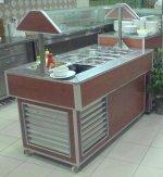 01-1600 Salata Bar Dolabı