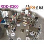 Renas Rod-K300 Tam Otomatik El Beslemeli Krem Dolum Hattı