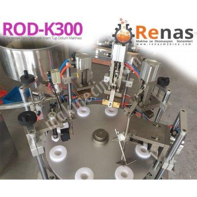 Satılık Sıfır Renas Rod-k300 Tam Otomatik El Beslemeli Krem Dolum Hattı Fiyatları İstanbul krem tüp kapatma,tüp kapatma,krem dolum