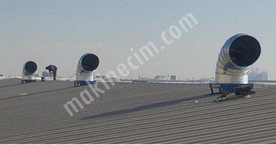 Çatı Fanı, 20.000 M3/h, 7,5 Kw