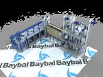 Taş Değirmen Compact System 40-45 Ton Capacity /day  Un Fabrikası Temizleme Ve Öğütme Ünütesi