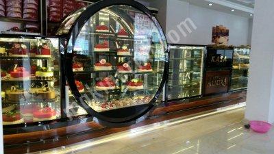 Oval Dik Pasta Reyonu Konsept İçerinde Kullanılabilir 170*170