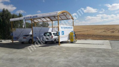 Coin-Operated Washing Peron Self Service Car Wash Areas Wash Cabinet