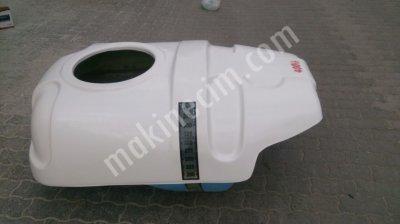 Polyester Depo 400 Lt - Şapkalı Model - Kdv Dahil