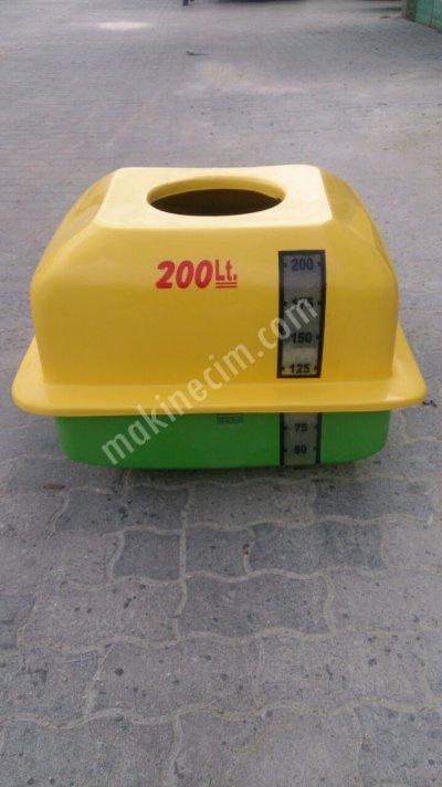 Polyester Depo Oturaklı - 200 Lt - Kdv Dahil