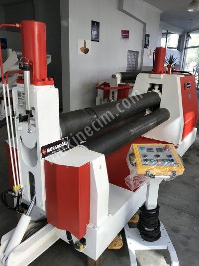Satılık İkinci El Hidrolik Silindir Saç Bükme Makinası Fiyatları  silindir sac bükme sac kıvırma makinası