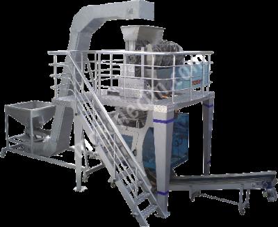 Makinenet Tam Otomatik Terazili Dolum Sistemli Dikey Paketleme Makinesi