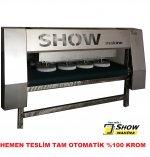 Tam Otomatik Krom Halı Yıkama Makinası 320 Genişlik  Türkiye Üretimi Gaziantep