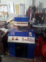 hot plate gilding printing machine embossing printing
