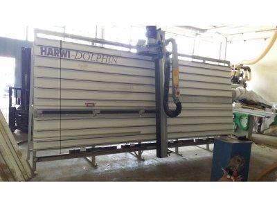 Satılık 2. El Dikey Şerit Testere Harwi Piranha Fiyatları İstanbul ahşap,dikey panel ebatlama,harwi piranha,testere,ebatlama