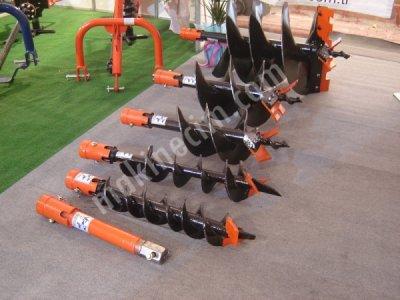 Satılık Sıfır Çukur Açma Makinası - B-150 Fiyatları Konya burgu,çukur açma makinası
