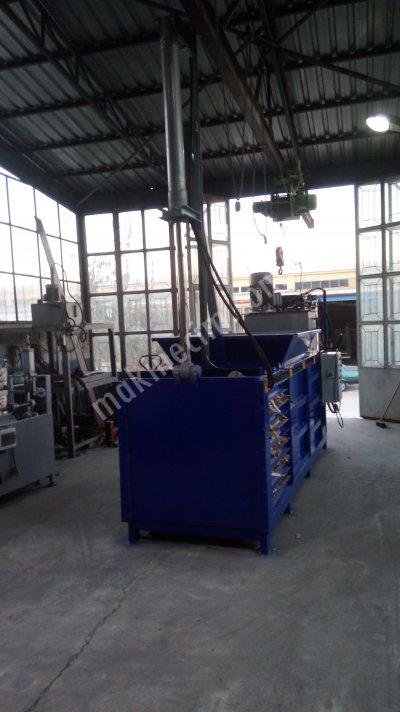 Satılık Sıfır Kağıt Balya Presi Fiyatları Karaman balya atık kağıt hurda