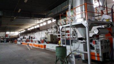 Yeni Polyester  Pet  Çember Şerit Üretim Hattı