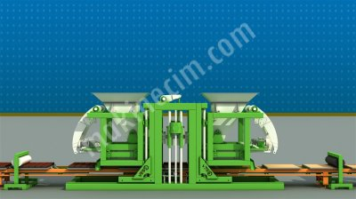 Briket Makinası Vess 24.1 Full Otomatik Fınger Car Tesis