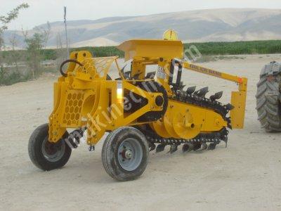 Kanal Açma Makinesi - Trencher  Kazıcı Makine