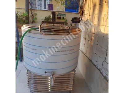 Süt Soğutma Tankı 500 Lt Dikey Tip