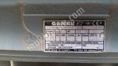 Gamak 110 Kw 1400 Devir Elektrik Motoru