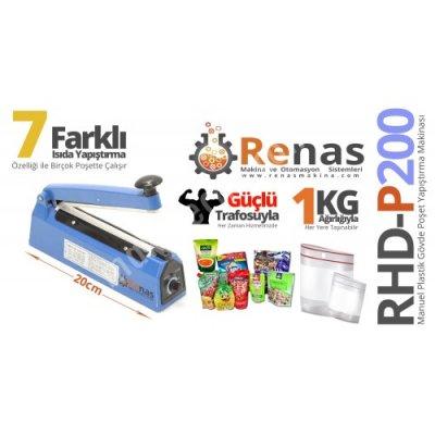 Satılık Sıfır Poşet Ağzı Yapıştırma Makinası ( 20cm Plastik Gövde ) Fiyatları  poşet yapıştırma,ambalaj yapıştırma