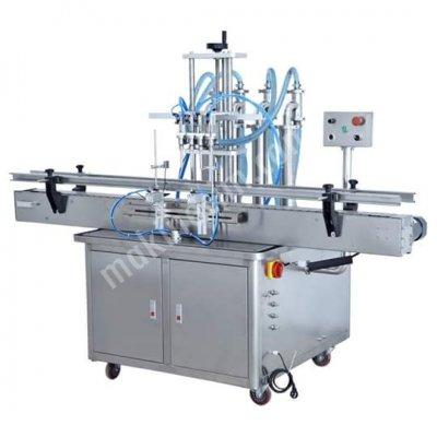 Satılık Sıfır Otomatik Sıvı Dolum Makinası Fiyatları Konya sıvı dolum makinası,otomatik sıvı doldurma makinası,4 kafalı dolum makinası,dört kafalı dolum makinası,2 kafalı dolum makinası,iki kafalı dolum makinası