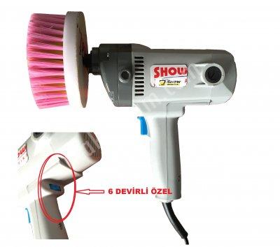 Koltuk Yıkama Fırça Makinası 6 Dvrli (Ymuşk Fırça Hediye Kapıda Ödeme 299 Tl