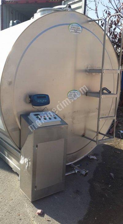 Satılık Sıfır 10 Tonluk Sut Sogutma Tankı Fiyatları Burdur cemre