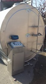 10 Tonluk Sut Sogutma Tankı