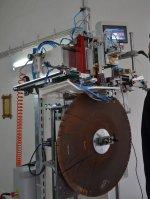 Daire Testereler İçin Tam Otomatik İndüksiyonla Elmas Kaynak Makinası