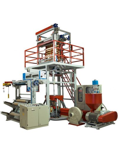 Hışır Poşet Film Makinası Hdpe - Ldpe Film Makinası