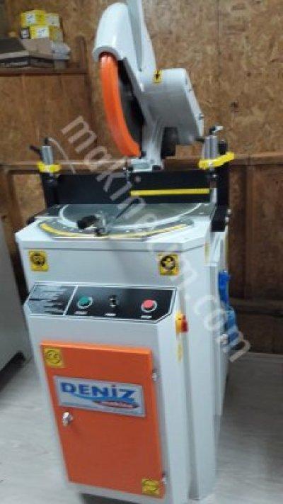 Satılık Sıfır Alüminyum Üstten Kesim Makinası Fiyatları Bursa pvc makina,bursa pvc makina,çift kafakesim makinası,çift kafa kaynak makinası