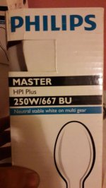 Phillips Master Hpı Plus 250W/667 Bu E40