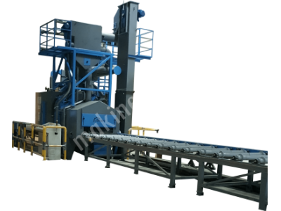 For Sale New Roller Conveyor Shot Blasting Machine