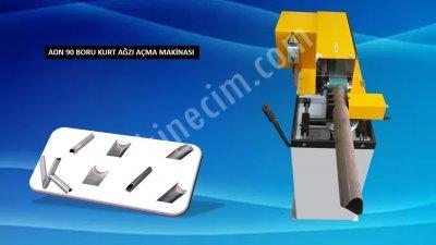 Satılık Sıfır Adn 90 Boru Kurt Ağzı Açma Makinası ( Adn Makina ) Fiyatları İstanbul kurt ağzı,boru açma,profil açma,krom açma,demir açma,ferforje açma,ferforce açma, kurt ağzı acma, kurt ağzı açma makinası, adn makina