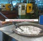 Basınçlı Döküm İçin 500kg Kapasiteli İndüksiyonla Aluminyum Ergitme Ve Sıcak Tutma Ocağı