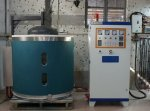 Basınçlı Döküm İçin 150Kg Kapasiteli İndüksiyonla Aluminyum Ergitme Ve Sıcak Tutma