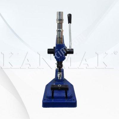 Satılık Sıfır Kollu Darbeli Pres Geniş Tabanlı Km 650 Fiyatları İstanbul kollu darbeli manuel aksesuar çakma makinası