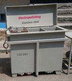 İkinci El Elektropolisaj Sistemi-150 Lt